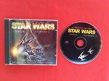 TRIBUTE TO THE STAR WARS SAGA EPISODE I 1 NON ORIGINAL VERSION CD MUSIQUE MUSIC