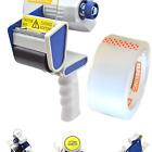Tape King TX100 Packing Tape Dispenser Gun - Plus 1 Free Roll of Packaging Ta...