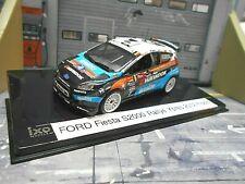 Ford fiesta s2000 rally Ypres combatió 2012 #6 flodin Monit Hankook transformación Ixo 1:43