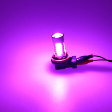 2x H11 H8 COB LED Hight Power Bulbs For Car Driving Fog Light Lamp Pink Purple