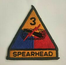3rd ARMORED DIVISION SPEARHEAD COLOR Vietnam Era US Army Patch