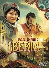 Pandemic Iberia Board Game Z-Man Games ZMG 71120 Limited Collector's Printing