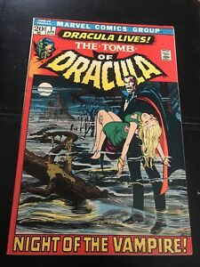 Tomb of Dracula #1 (1972),VF- 7.5 1st Marvel Appearance Dracula, Bronze Age