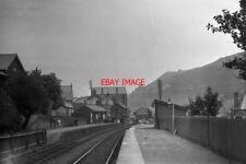 PHOTO  NEW TREDEGAR RAILWAY STATION IN JUNE 1922