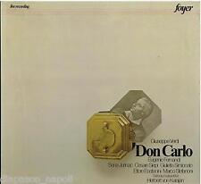 Verdi: Don Carlo / Karajan, Fernandi, Jurinac, Siepi, Salzburg 1958 - LP NM / G