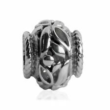 *New* 925 Sterling Silver Rhona Sutton cherry leaves premium charm bead RRP £30