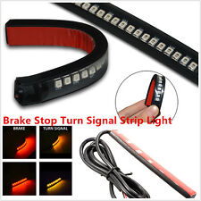 2Pcs 18LED Flexible Amber/Red Motorcycle ATV Tail Brake Stop Turn Signal Lights