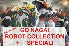 GO NAGAI ROBOT COLLECTION COMPLETA 1/150+30 SPECIALI NUOVA IMBALLATA- LEGGI BENE