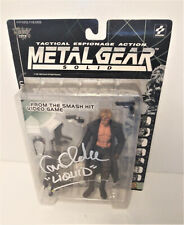 CAM CLARKE Metal Gear Solid SIGNED McFarlane Toys Liquid Snake Action Figure