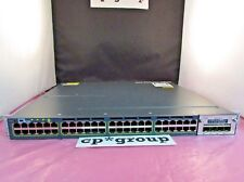 Cisco WS-C3560X-48P-L 48-Port PoE Gigabit Lanbase Managed Switch 715W C3KX-NM-1G