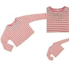 Next Girls' Striped Neck T-Shirts, Top & Shirts (2-16 Years)