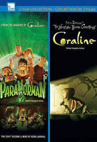 Paranorman/Coraline (DVD, 2013, 2-Disc Set, Canadian) BRAND NEW SEALED