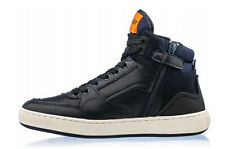 REPLAY Kinder Nappa Leder Schuhe Sneaker Stiefel Kinderschuhe dunkelblau 29-37