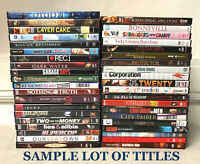 WHOLESALE LOT OF 40 DVD MOVIES - PREVIOUSLY VIEWED - REGION 1 - AUTHENTIC USA