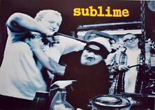 Sublime Rare Out of Print poster 24 x 35