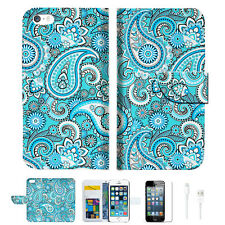 Seamless pattern with paisle Wallet  Case Cover For Apple iPhone 6 6S -- A022