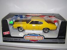 American Muscle 1970 Chevelle SS454 LS6 Die-Cast 1/18 Scale,Ertl,MIB