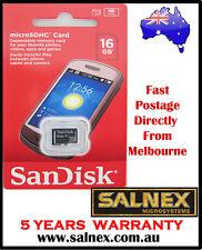 Genuine SanDisk 16gb microSDHC Class4 Memory Card