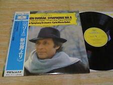 DVORAK-Symphonie NR.9 Giulini Japan LP w/OBI