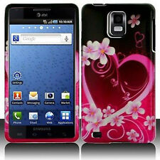 Purple Love Hard Case Phone Cover for Samsung Infuse 4G