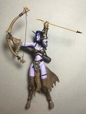 WOW Warcraft 3 SHANDRIS FEATHERMOON Night Elf Actionfigur Blizzard Ent. 2003
