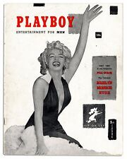 Marilyn Monroe 8x10 Photo Image 1953 Playboy Magazine Cover Collectible REPRINT