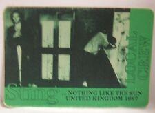 Sting / The Police - Original Concert Cloth Tour Backstage Pass