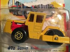 Matchbox Bomag Road Roller #72 -  New in Package 1980 Lesney