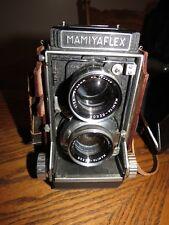 VINTAGE Mamiyaflex   MEDIUM FORMAT  Camera w/ Mamiya Sekor  F2.8 80 MM   LENSES