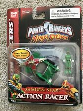 NIB Power Rangers Ninja Storm Samurai Star Action Racer Bandai 2003 #10573