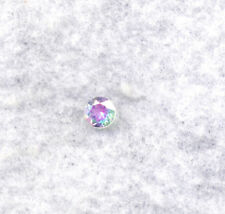 OUT OF THIS WORLD!  6mm Round Genuine MYSTIC TOPAZ SATURNS FIRE variety