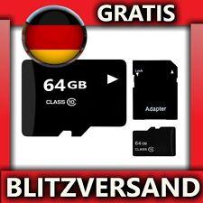 NEU & OVP - Micro SD Speicherkarte 64 GB * EXPRESSVERSAND * Memorycard