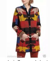 """Anthropologie Sparrow  Lonestar Navajo Cardigan Sweater Coat Sz M """"Sold-Out"""""""