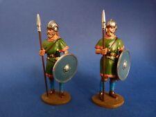 Soldat de plomb Delprado Antiquité-  SRM063 - 2 Visigothic warriors