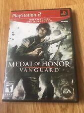 Medal Of Honor Vanguard PS2 Sony PlayStation 2 Cib Game XP2