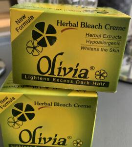 Olivia Herb Bleach Natural Herbal Skin Creme Cream Bleach