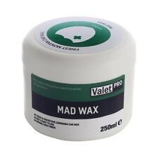 Valetpro Mad Wax Carnauba Car Wax 250ml + FREE APPLICATOR AND MICROFIBRE