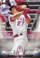 2018 Topps - Mike Trout #TS-59 - Topps Salutes Mother's Day - Angels