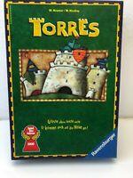 Torres von FX Spiel des Jahres 2000 Gesellschaftsspiel Brett Kinder Familie