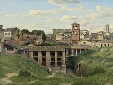 CHRISTOFFER WILHELM ECKERSBERG DANISH VIEW CLOACA MAXIMA ROME ART PRINT BB5110A