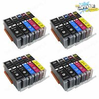 20PC New PGI-250XL CLI-251XL High Yield Ink For Canon Pixma MG5420 MG6320