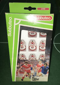 SUBBUTEO TEAM LW REF  683 ARSENAL 1ST DIV CHAMPS MINT CONDITION IN VERY GOOD BOX