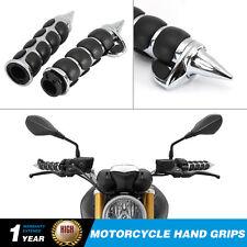 """1"""" Spike Handlebar Hand Grips For Honda Shadow Velorex Deluxe VT600 VT750 VT1100"""