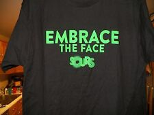 SMIRNOFFEMBRACE THE FACE SOURS  Large  T-SHIRT   NWOT