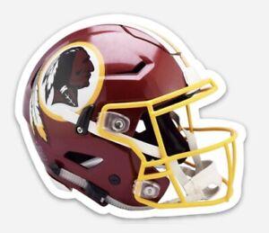 Washington Redskins custom die cut Helmet MAGNET NFL Football