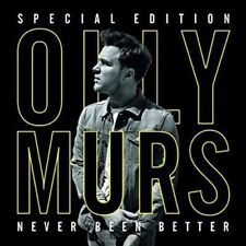 Olly Murs Never Been Better 2015 Special Edition CD DVD O2 New&