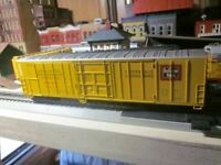 BURLINGTON NORTHERN EXPRESS REFRIGERATED MECHANICAL REEFER 60 ' ATHEARN 1/87 RTR
