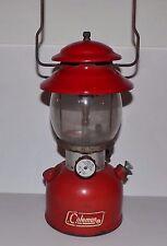 Red Coleman Lantern model 200a  2 1972 Vintage