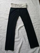 Women's Small Petite Yoga Exercise Pants Black Stretchy Victoria's Secret
