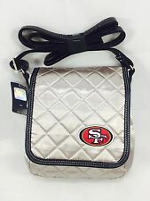 NFL San Francisco 49ers Women's Quilted Saddle Bag Purse
